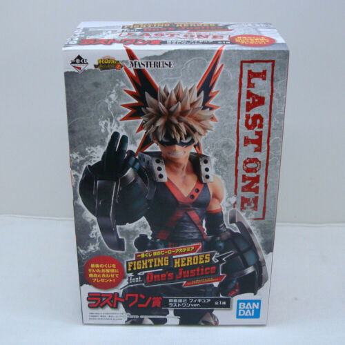 My Hero Academia Katsuki Bakugou FIGHTING HEROES figure