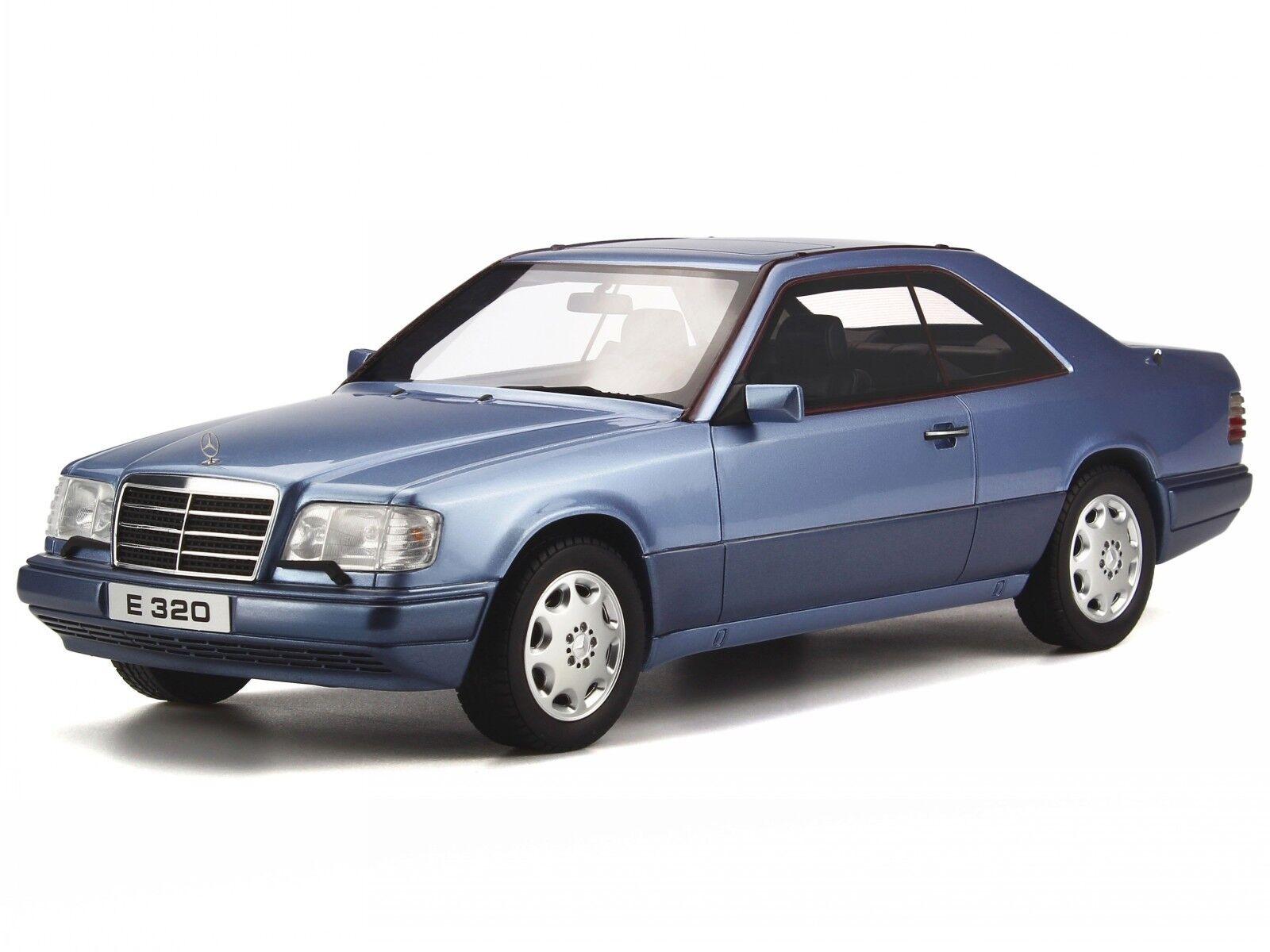 Mercedes C124 E320 Coupe E-classe perl bleu véhicule miniature OT682 Otto 1:18 | Belle En Couleurs  | Vente  | Doux Et Léger
