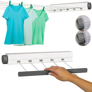 21m Heavy Duty Retractable Outdoor 5 Line Clothes Laundry Drying
