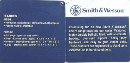 Smith /& Wesson Defender Handgun Case Small Gray /& Black~110018