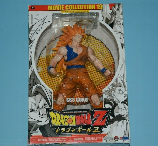 Dragon Ball Z Movie Collection 19 Limited Edition SS3 Goku Rare Hard To Find