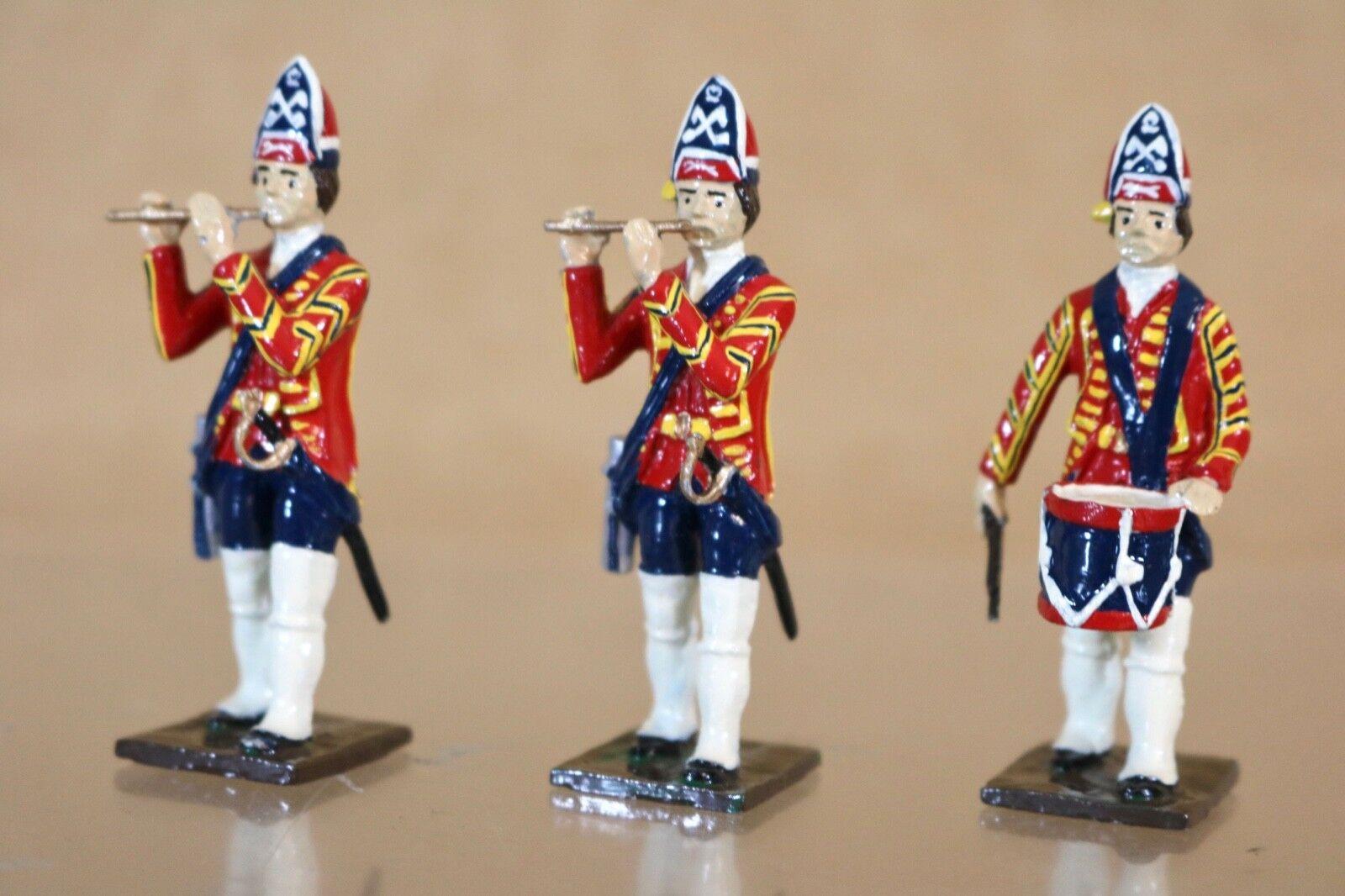 disfrutando de sus compras Tradición Jacobita Rebellion Rebellion Rebellion Granadero Fife & Batería Soldado en Culloden 1745  envío gratis