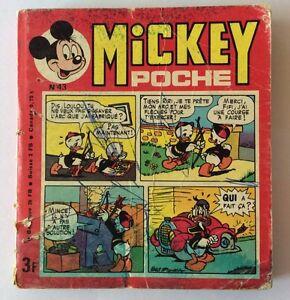 MICKEY-POCHE-n-43-de-Novembre-1977-Album-BD-Walt-Disney