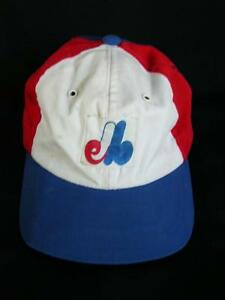 6ea564027b566 OLD SCHOOL VINTAGE MONTREAL EXPOS BASEBALL CAP LID HAT RED WHITE ...