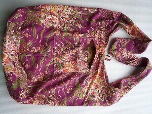 ca4057f5dde46 Schultertasche Beuteltasche Shopper Blumen Umhänge Tasche Flower Hippie  03019