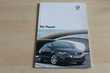 79427) VW Passat Prospekt 10/2007