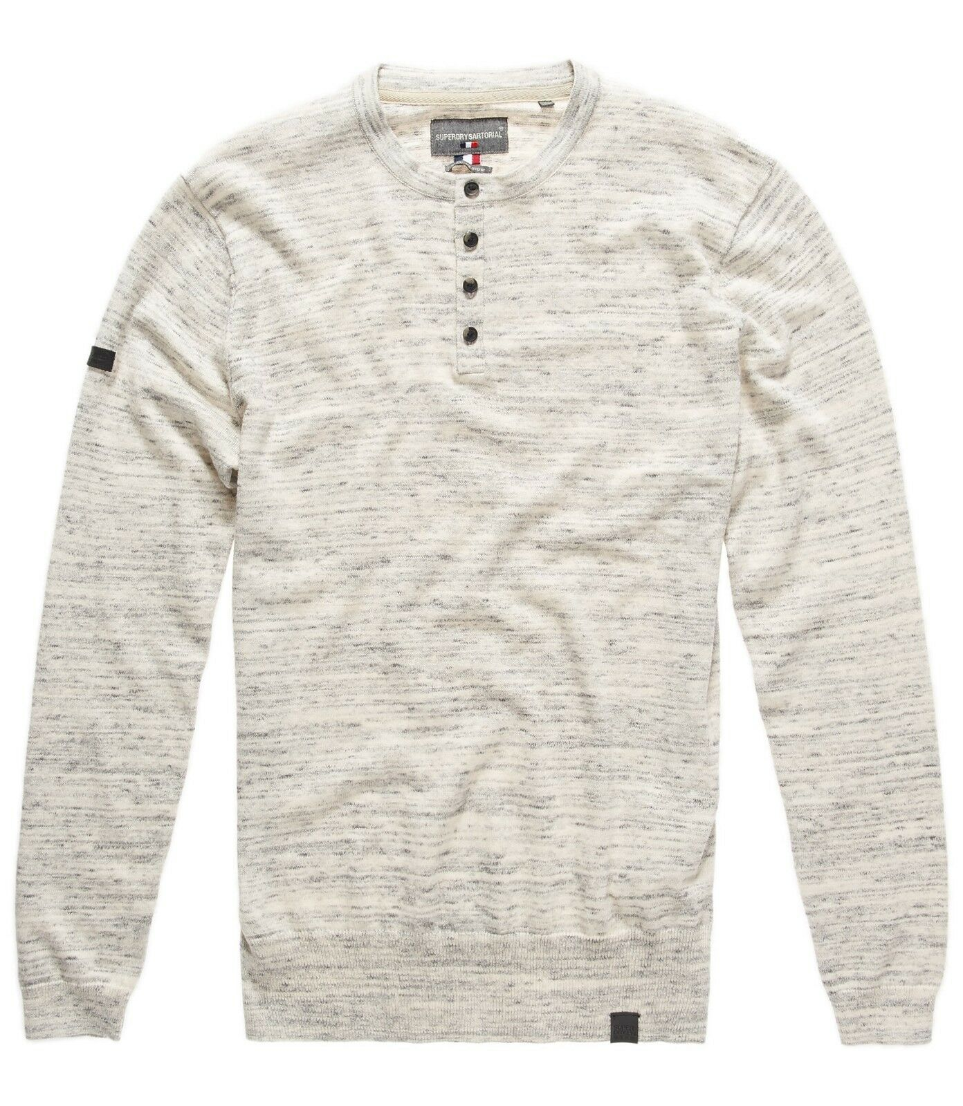 SUPERDRY orange LABEL GRANDAD Limestone Grindle
