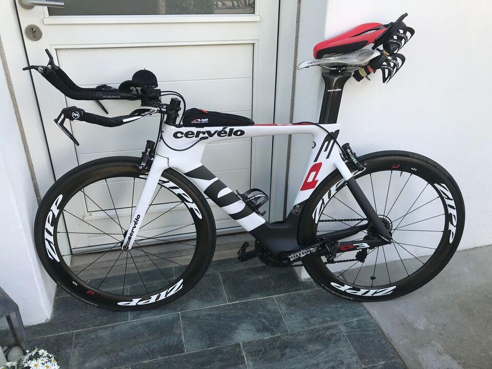 Triatloncykel, Cervélo P3, 54 cm stel