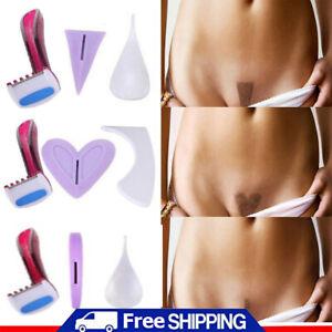 Women Bikini Dedicated Privates Shaving Stencil Female