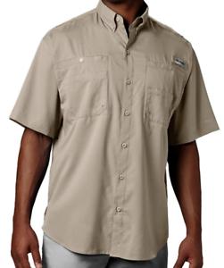 Columbia Mens Tamiami Short Sleeve Fishing Shirt