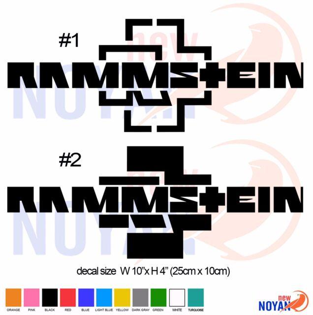 german music band RAM LOGO, ROCK BAND DECAL, STICKER