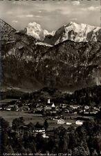 Oberau villaggio il Inn vecchia cartolina 1958 andate totale vista con imperatore integrale