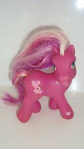 Figurine Mon Petit Poney My Little Pony Fushia Hasbro 2002 (11x9cm) Eg61sdrw-07183638-550490725
