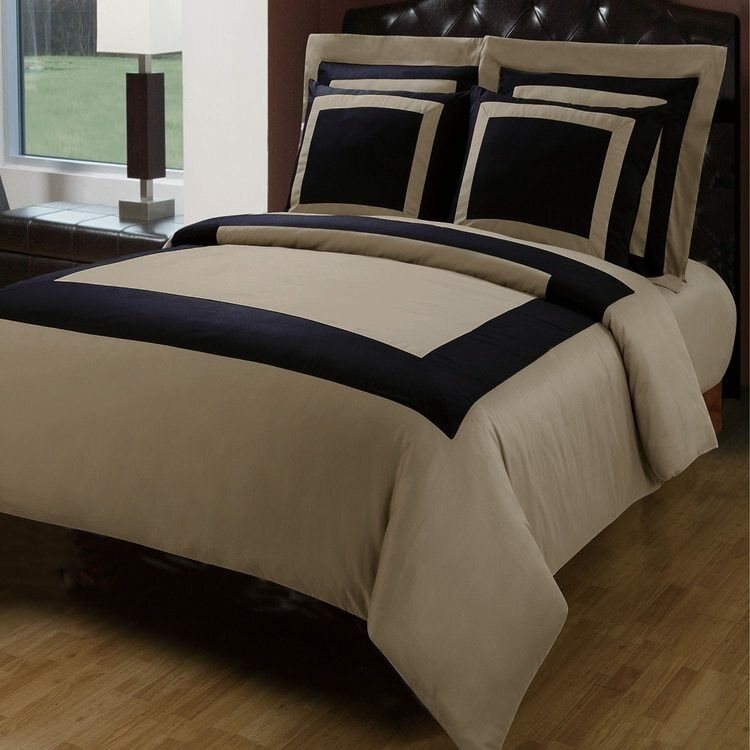 100% Cotton Luxury 5pc Hotel Duvet Cover Set
