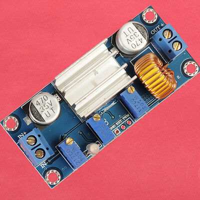 4.5-30V to 0.8-30V Step-down Module 5A Constant Current Constant Voltage CCCV
