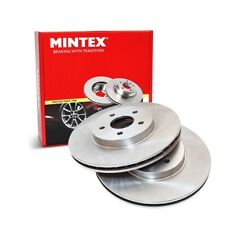 Drivemaster DMD061 Front Brake Discs x2 278mm Diameter Vented 25mm Thickness