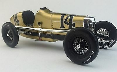 14 LOUIS MEYER 1928 INDY 500 WINNER MILLER SPECIAL 1:18 RACE CAR INDIANAPOLIS