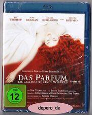 """PERFUME - THE STORY OF A MURDERER"" - Alan Rickman, Dustin Hoffmann - BLU RAY"