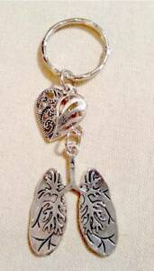 Lungs-Keyring-with-Heart-Shaped-Charm