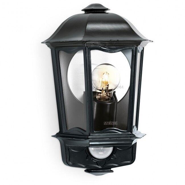 STEINEL L190 L190 L190 S Outdoor Wall Lantern Light in schwarz 4ed411