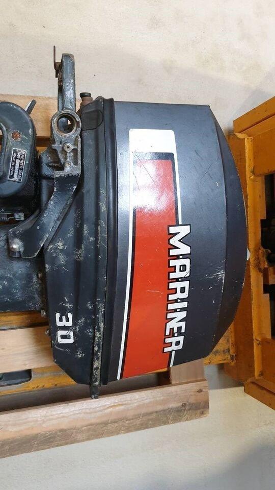 påhængsmotor Mariner, hk 30, benzin