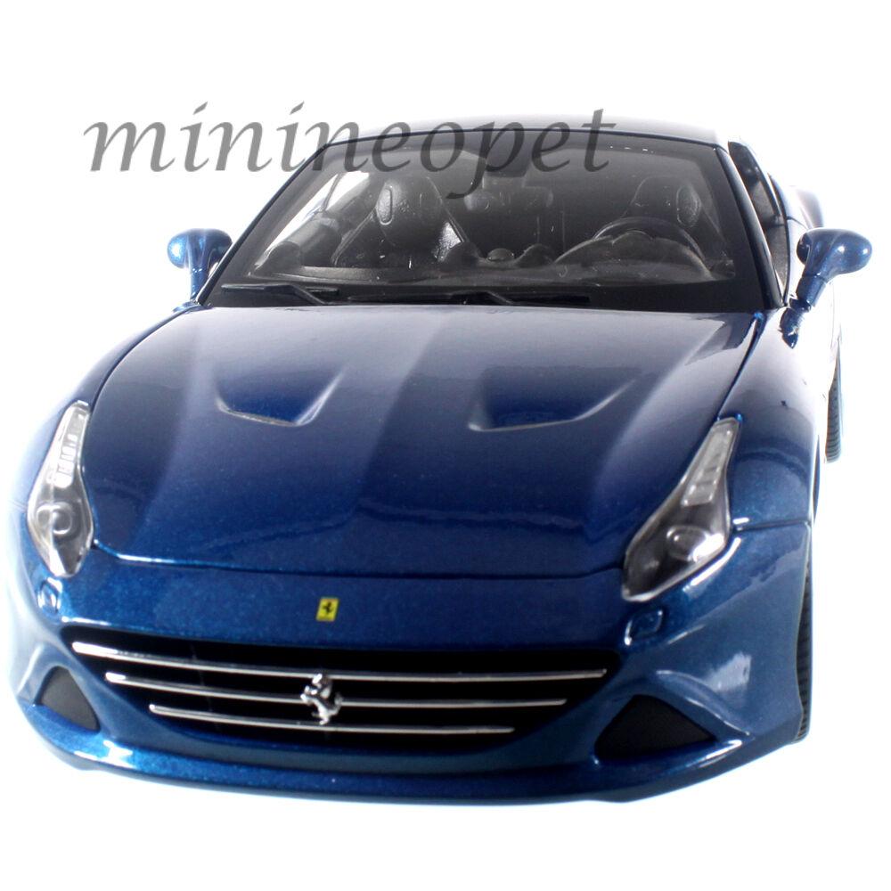 Bburago 18-16003 Ferrari California T Cerrado Cerrado Cerrado Top 1 18 Diecast Model Car Azul 543b2c