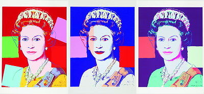 Andy Warhol The Queen Giclee Canvas Print Paintings Poster Reproduction Copy