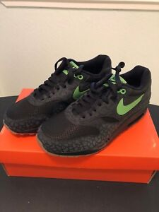 on sale 62a55 2bfb2 Image is loading Nike-Huf-Air-Max-1-Mens-8-Hufquake-