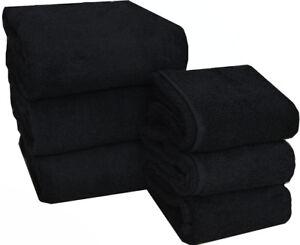 Set-asciugamani-nero-viso-salvietta-asciugamano-b-amp-b-parrucchiera-palestra