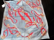 NEW CARTIER 100% SILK  SCARF MADE IN ITALY