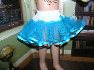 "Green Sparkle Net Slip Petticoat 19-20/"" Doll clothes fits Mattel Chatty Cathy"