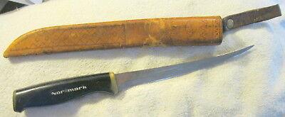 Vintage Normark Fiskars Finland Stainless Steel Fillet Knife
