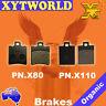 FRONT REAR Brake Pads PIAGGIO NRG 50 RST DD/DT MC2 Rear disc 1998