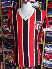 Vintage Jersey Sao Paulo FC 70s (M) Home Campeã Shirt Brazil Camisa Maglia