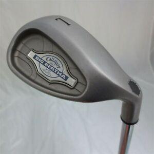 Mens-RH-Callaway-Big-Bertha-X-12-Lob-Wedge-L-Golf-Club-1-034-Stiff-Flex