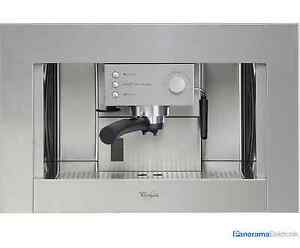 Einbau Kaffeemaschine whirlpool kaffee automat einbau kaffeemaschine espressomaschine