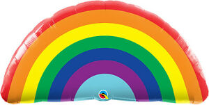RAINBOW-BALLOON-36-034-BRIGHT-RAINBOW-QUALATEX-SUPERSHAPE-FOIL-BALLOON