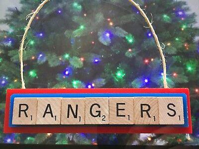 Arizona Diamondbacks DBacks Christmas Ornament Scrabble Tiles Magnet
