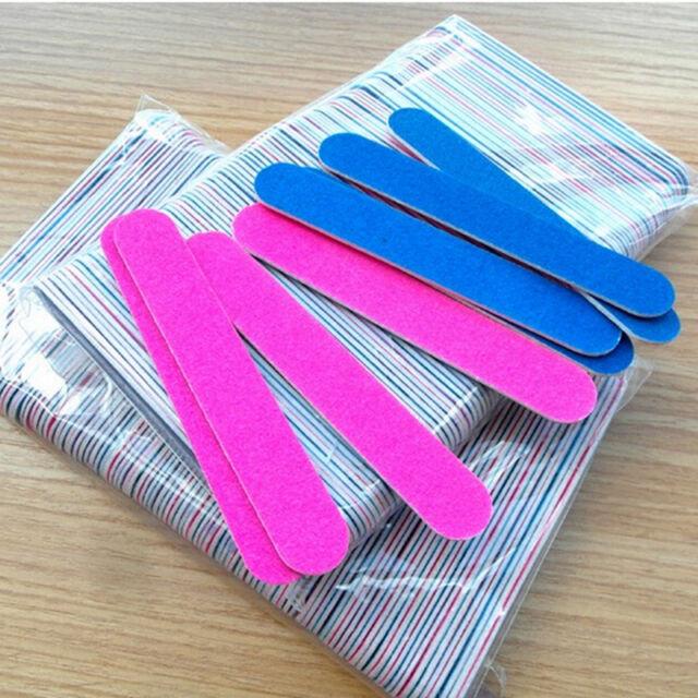 10Pcs Nail Art Sanding File Buffer For Salon Manicure UV Gel Polisher Tool^ MECA