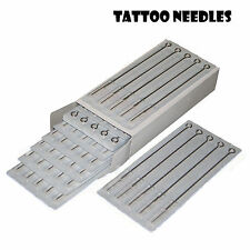 50 Assorted Disposable Tattoo Rounds Flats Mags Shades Needles uMix Sizes