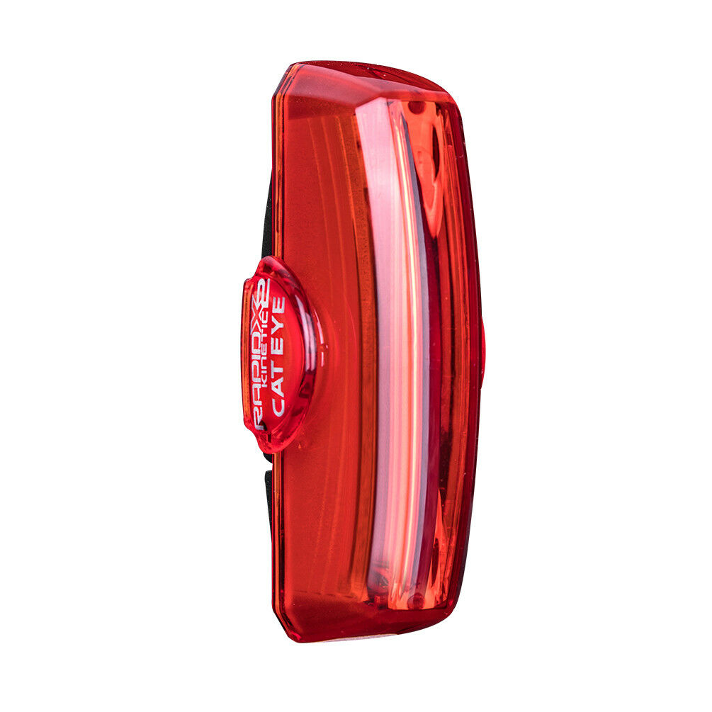 CATEYE USB Rechargeable Red Tail Light Rapid X2 KINETIC BUILT-IN ACCELEROMETER