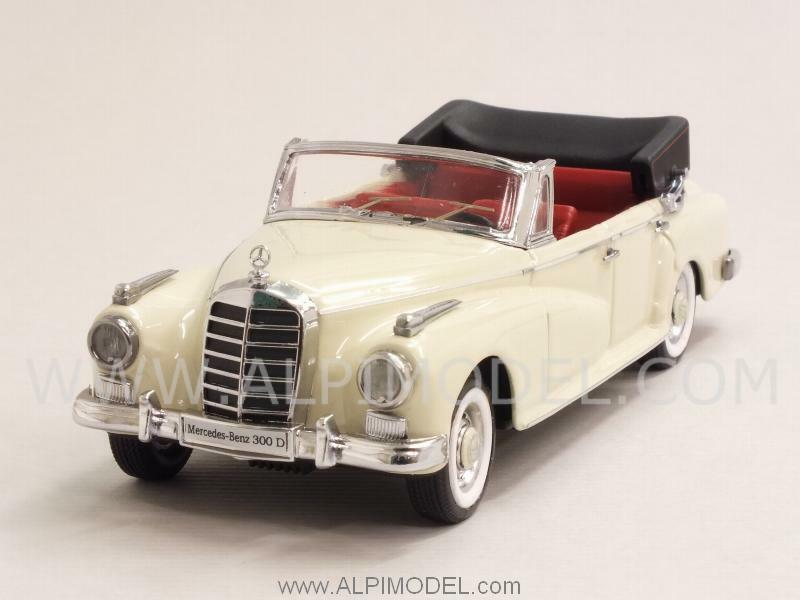 Mercedes 300 D Cabriolet 1958 White White White 1 43 RIO 4459 797e8e
