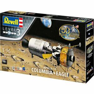 REVELL-Gift-Set-Apollo-11-Columbia-Eagle-1-96-Space-Model-Kit-03700