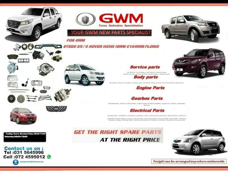 SPECIALISING IN GWM AUTOMOTIVE PARTS.Electrical Parts, Engine Parts,Engines and Gearboxes
