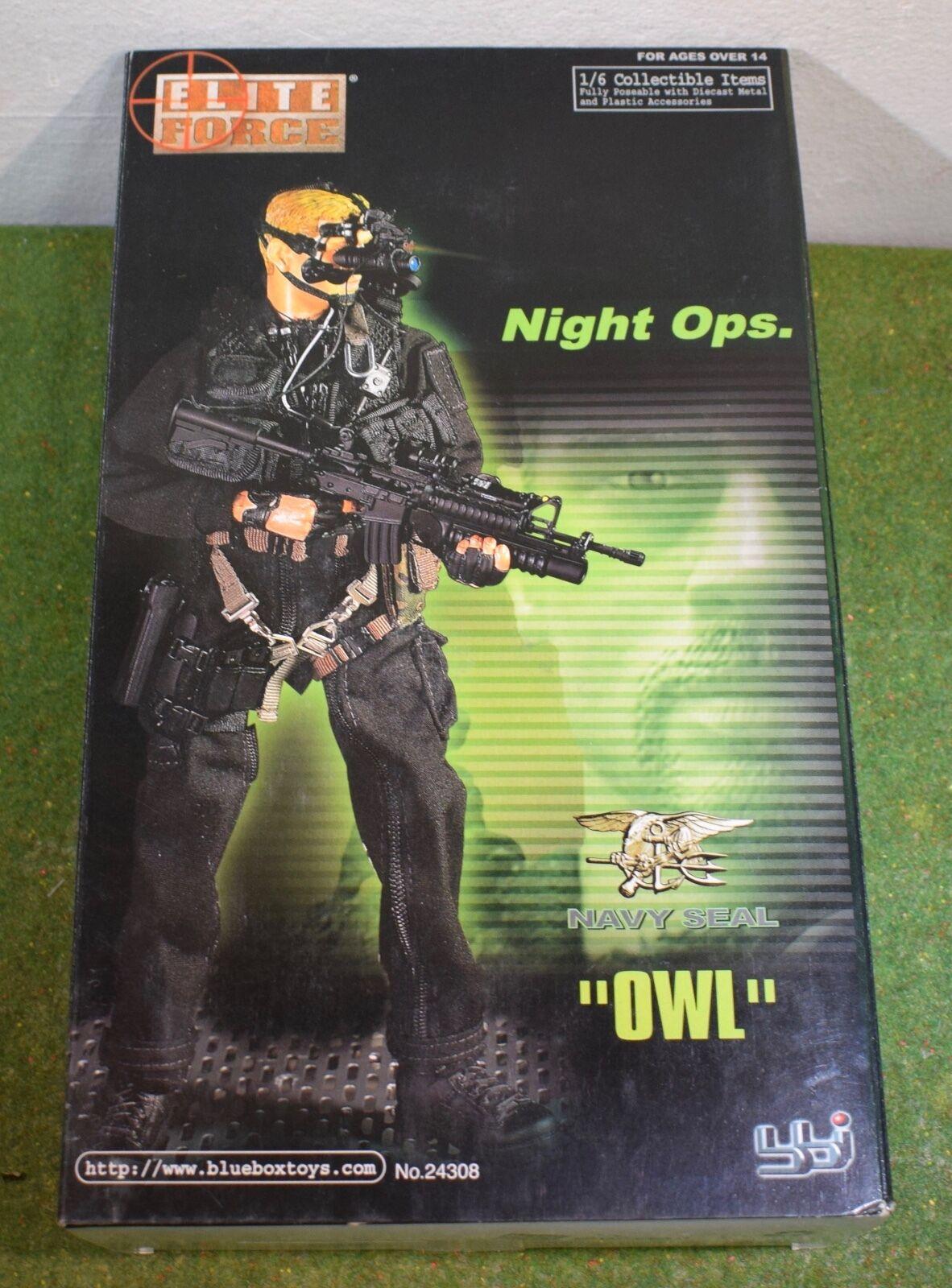 ELITE FORCE - BBI - 1 6 - MODERN - US - OWL - NIGHT OPS NAVY SEAL