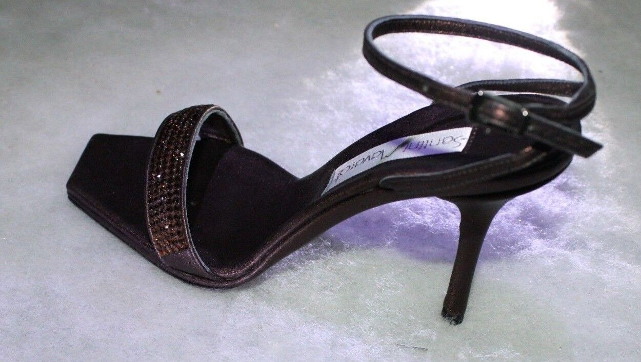 Santini pumps Mavardi Miami Carina 5 Braun smoke leather topaz pumps Santini sandals 37 7 5 0f2d77