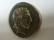 ancient greek coin Athina Silver