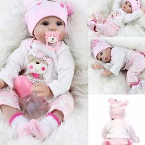 55cm-schoen-Neugeborenes-Reborn-Baby-Dolls-Newborn-handgefertigt-Silikon-Vinyl