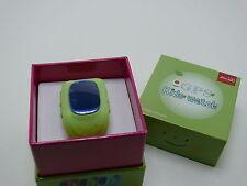 Handy Uhr Sicherheit Ortung GPS Tracker Kinder Notfalluhr Watch grün