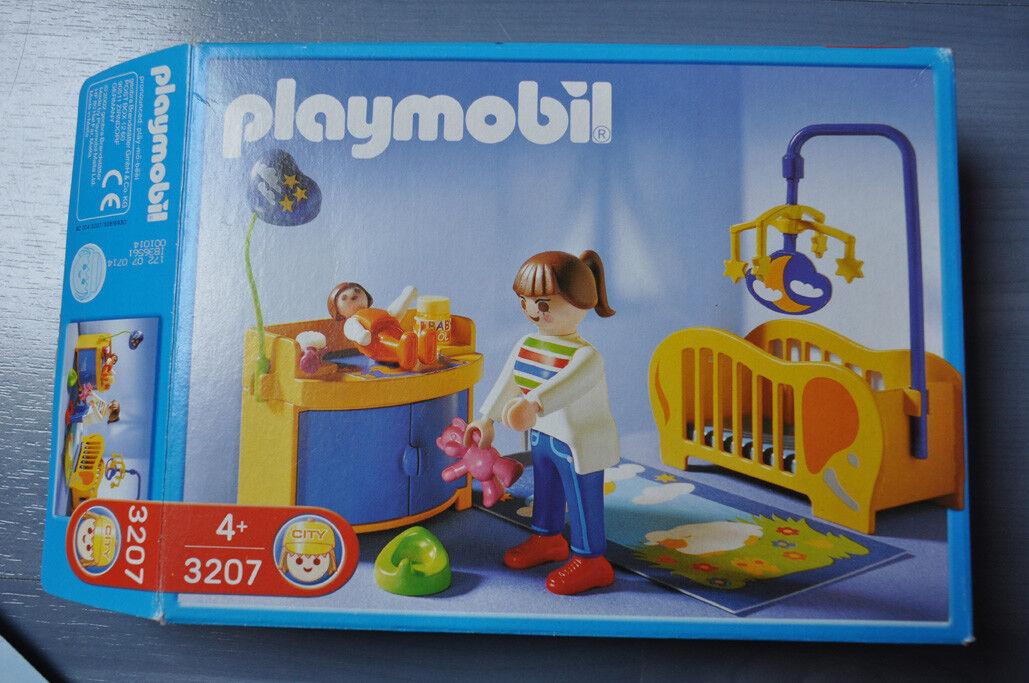 Playmobil - 3207  Maman   Chambre de bébé  La Maison Moderne TBE